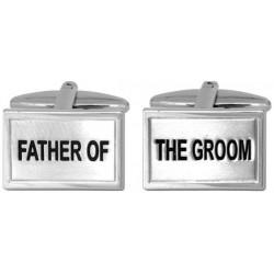 manschettknappar far till brudgummen