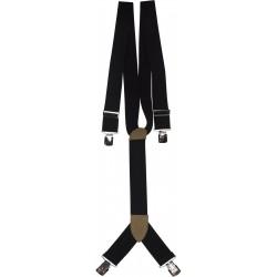 extra breda svarta hängslen