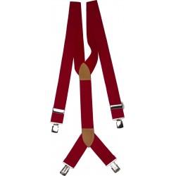 extra breda röda hängslen