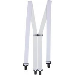 Super suspender hängslen - Vita