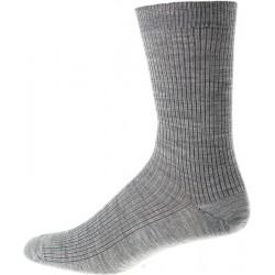 Kt socka - Utan elastisk - Grå