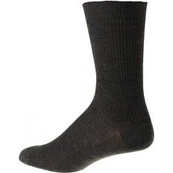 Kt socka - Utan elastisk - Mörkgrå