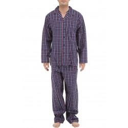 Kariert Popeline Schlafanzug