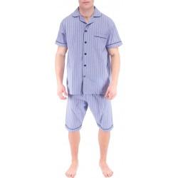 Ljusblå herr pyjamas