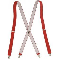 Röda X hängslen