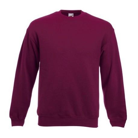 Weinrot Herren Sweatshirt