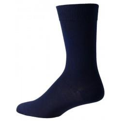 mörkblå strumpor för män